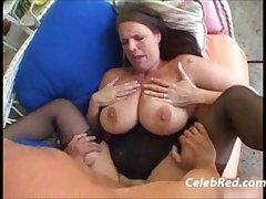 Busty MILF Carrie Moon Big tits Blowjob