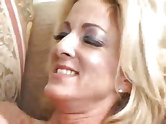 Mature with Silicone Rides a Long Hard Dong