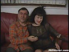 British Mature -Suzanne Fingered plus Fucked