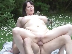 NastyPlace.org - Big tits mature with young womanhood in public date
