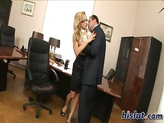 Aleska is a horny secretary