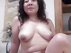 Japanese ugly BBW Mature Creampie Junko mingle 46years